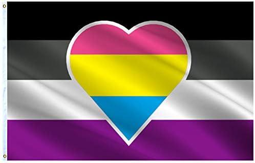 Panromantic flag