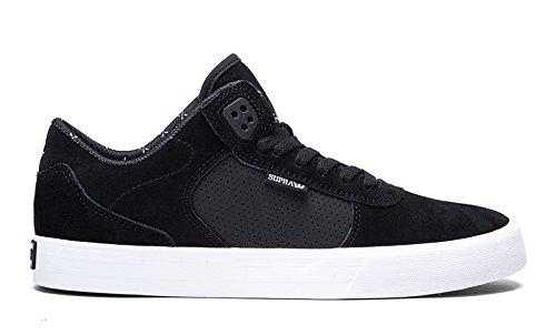 SUPRA Skateboard Shoes ELLINGTON VULC BLACK-WHITE