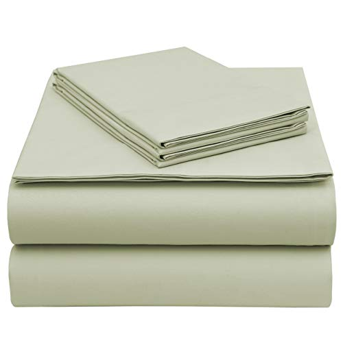 - EnvioHome GOTS Certified Organic Cotton Sheet Set - 4 Pc - Natural, Queen