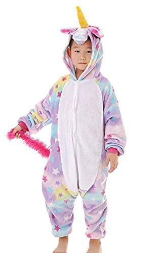 Children Animal Christmas Pajamas Unicorn Kigurumi Cosplay Costume Cute Sleepwear