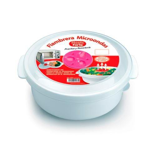 Plastic Forte - Fiambrera microondas-[Capacidad:500 ml ...