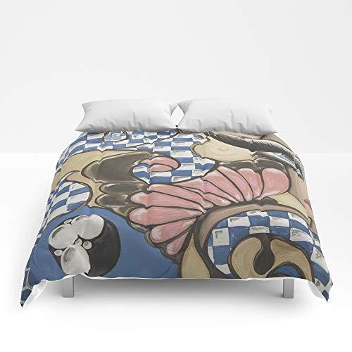 "Society6 Comforter, Size Full: 79"" x 79"", Daydream in Wonderland by Artist_Fran_Doll"
