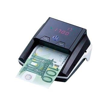 Q-Connect Detector Y Contador Billetes Falsos Portátil Con Puerto Usb Para Actualización De Divisas: Amazon.es: Oficina y papelería