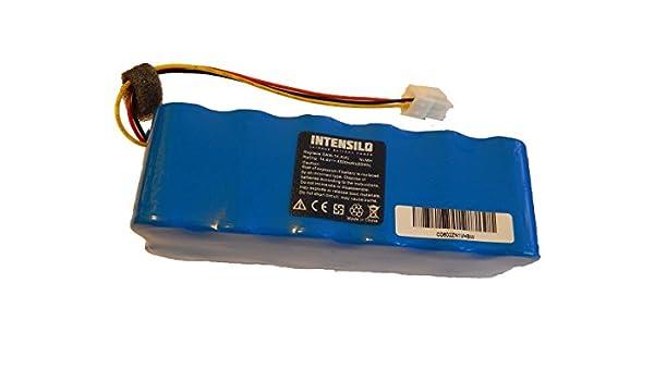 INTENSILO Batería NiMH 4500mAh (14.4V) para robot aspirador Home Cleaner Samsung Navibot VR10BTBATUB/SW como VCA-RBT20.: Amazon.es: Hogar