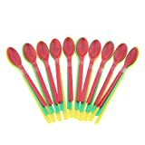 MagiDeal 30PCS Plastic Long Lab Spatula Spoon Drug Scoop, Helps weigh Small Amounts