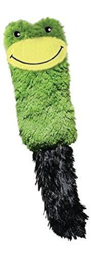 Cat Kong Frog - KONG Cat Cozie Kickeroo Catnip Toy, Green Frog