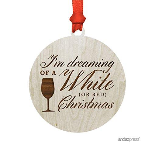 Wine Christmas Ornament - 6
