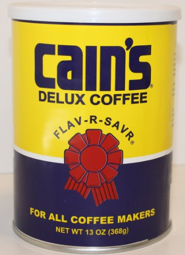 Farmer Brothers Cain's Delux Coffee Flav-r-savr 13 Oz. Can