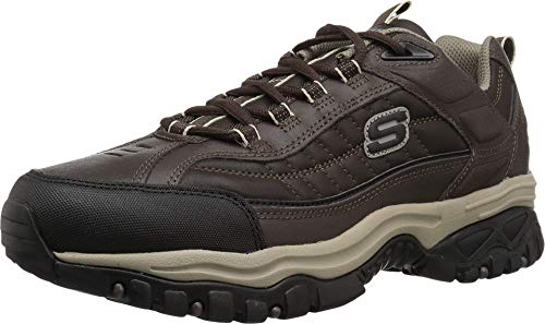 Skechers Sport Mens Energy Downforce Lace-Up Sneaker,Brown Taupe