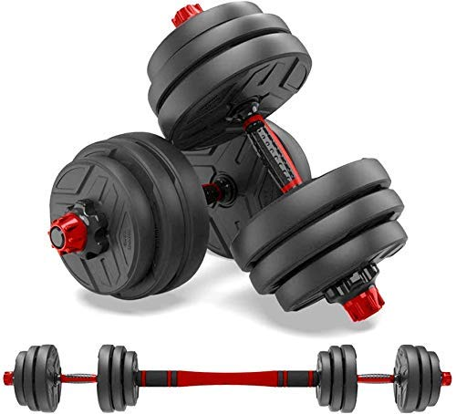 shanchar Weights Dumbbells Set,Free Weights Dumbbells Set for Women and Men with Connecting Rod Can Be Used As Barbell…