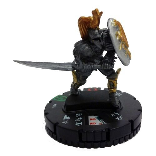Heroclix Mage Knight: Resurrection #015 Tovak Figure Complete with Card