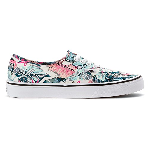 Vans Femmes Authentique Bas Haut Lace Up Baskets De Mode Multi / True White