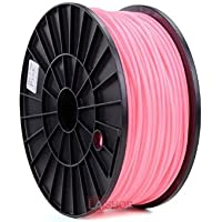 3mm Pink ABS 3D Printer Material Printing Filament Spool 2.2 lbs MakerBot Pen RepRap Print DIY Design Mendel Models for Tool Equipment Office Industry Desktop Computer Printers