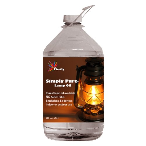 Firefly Paraffin Lamp Oil - 1 Gallon - Odorless & Smokeless - Simply Pure - Ultra Clean Burning by Firefly (Image #2)