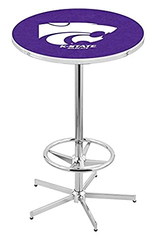 Holland Bar Stool L216C Kansas State University Officially Licensed Pub Table, 28