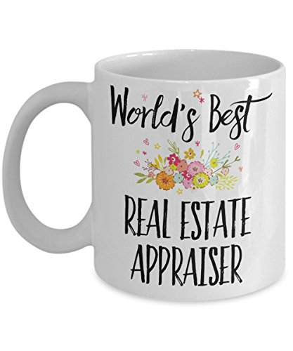 Real Estate Appraiser Gift Mug - World's Best - Appreciation Coffee Cup