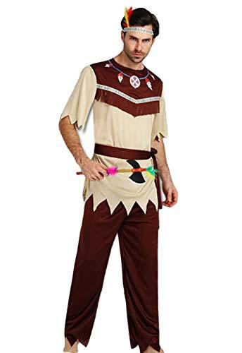 ハロウイン コスプレ衣装 大人 原始人 インディアン 仮装 変装 クリスマス 祭り コスチューム