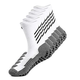 Gogogoal Calcetines deportivos antideslizantes para hombre y mujer, transpirable desodorante Calcetines para fútbol baloncesto running ciclismo ...