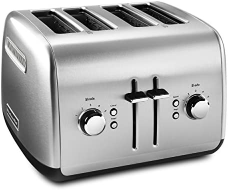 KitchenAid KMT4115SX Stainless Steel Toaster, Brushed Stainless Steel