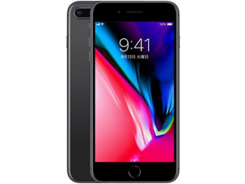 iPhone8Plus 256GB(スペースグレイ)