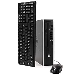 HP Elite 8300 Ultra Small Desktop PC, Intel Quad Core i5 Processor, 16GB RAM, New 2TB Solid State Hybrid Drive, Windows 10 Pro, DVD, Keyboard, Mouse, WiFi (Renewed)
