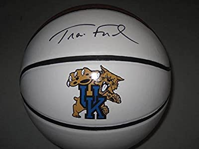 Travis Ford Kentucky Wildcats Signed Full Size Basketball Make An Offer Big Blue - Autographed College Basketballs