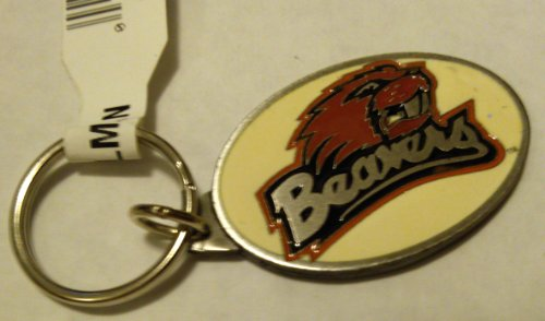 Oregon State Beavers PREMIUM Pewter Keychain Key Chain University of