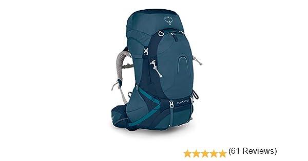 Osprey Aura AG 65 Womens Backpacking Pack - Challenger Blue (WS ...