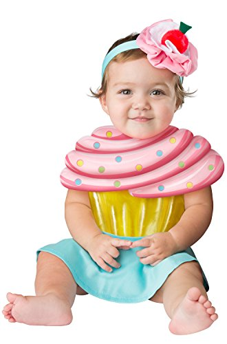 Fun World Baby Girls' Cupcake Cutie, Multi, S (Cupcake Cutie)