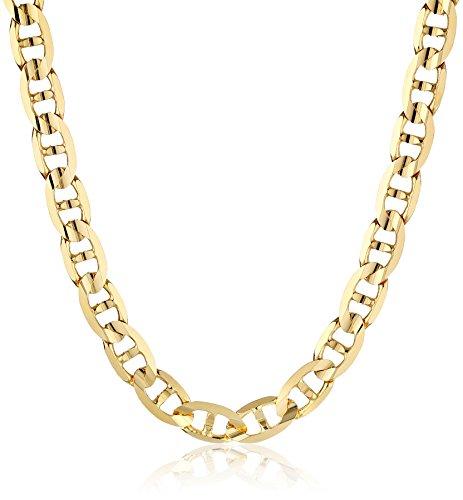 Изображение товара Men's 14k Yellow Gold Mariner Chain Necklace, 22