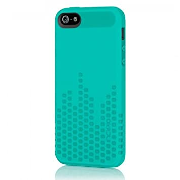 Incipio Frequency - Carcasa con película protectora para iPhone 5, color turquesa