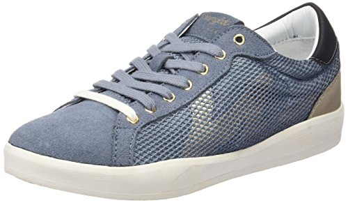 Wave Zapatillas Azul Mujer Mesh Low Wrangler 4qwxdYd
