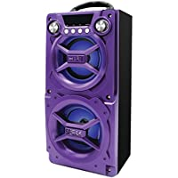 SYLVANIA SP328-PURPLE Bluetooth(R) Speaker with Speakerphone (Purple) Electronic Accessories