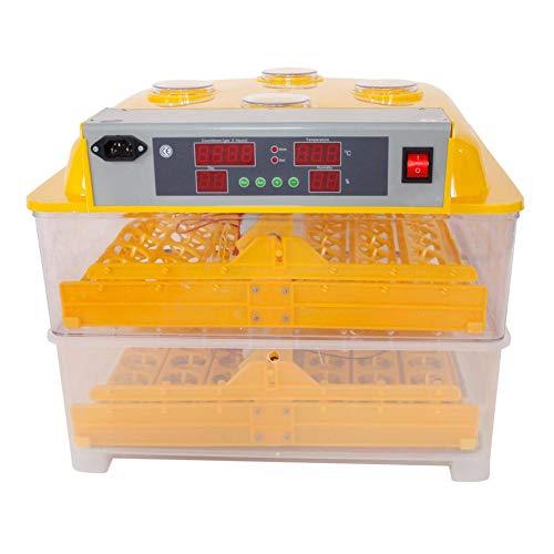 - Roful Automatic Incubator, 96-Egg Practical Peep Hole Fully Automatic Poultry Incubator Set Egg Breeding Box Feeder US Plug