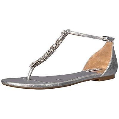 Badgley Mischka Women's Holbrook Flat Sandal