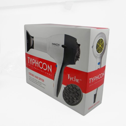 Tyche Ceramic Hair Dryer Typhoon 1875 by Red (Image #2)