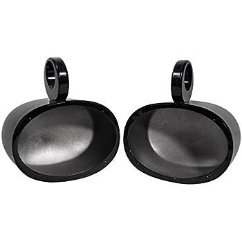 Amazon Com Pair Rockville Mac69b 6x9 Black Aluminum
