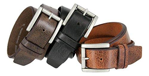 Western Casual Jean Vintage Distress Leather Belt for Women