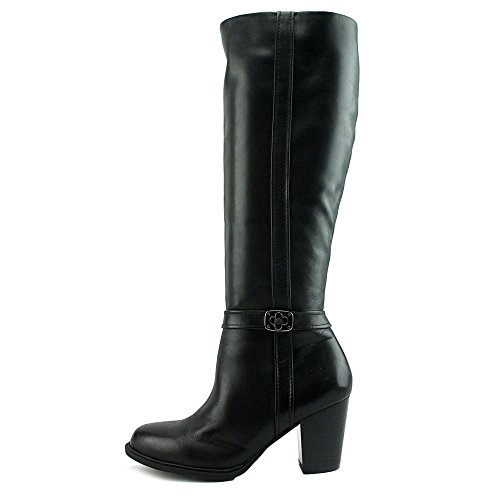 Black US Women Raiven Knee Giani High 11 Boot Bernini wvCXqX