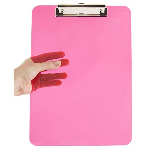 JAM Paper Plastic Clipboards Individually