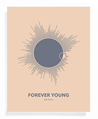 forever young bob dylan poster
