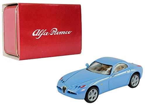 Solido Alfa Romeo 1:43 Scale Nuvola Concept Car in Metallic Light Blue (Best 1 43 Diecast Cars)