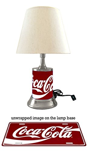 Coca-Cola Lamp with Shade