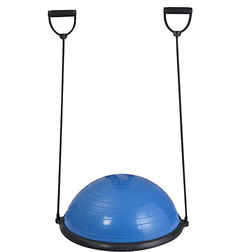 Yoga Balance Trainer Ball Healthy Fitness 23 '' 58cm with Strings & Pump by Caraya