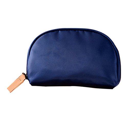 HuaForCity - Cartera de mano con asa para mujer Azul
