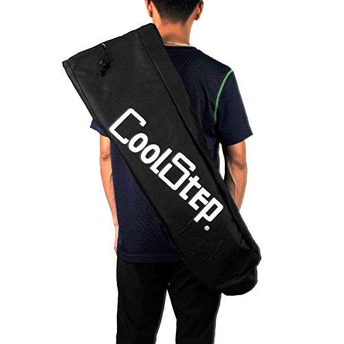 Skateboard Longboard Shoulder Bag, Carry Case Durable Waterproof Sports Travel Cover Backpack Handbag Parts Black