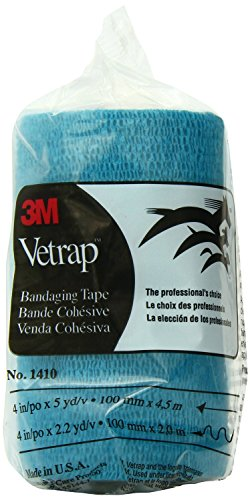 Vetrap Bandaging Tape Teal 3M 4