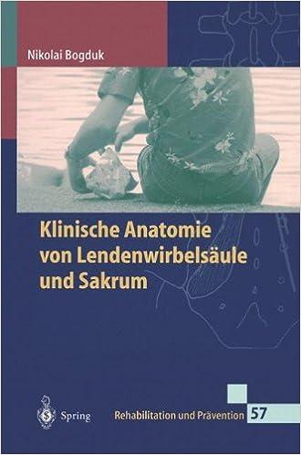Klinische Anatomie von Lendenwirbelsäule und Sakrum Rehabilitation ...