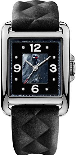 Tommy Hilfiger Synthetic Black Dial Women's Watch #1781244