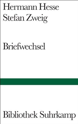 Briefwechsel (Bibliothek Suhrkamp, Band 1407)